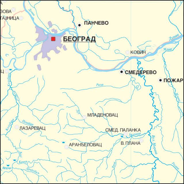 Hidrografska Karta Vojvodine Superjoden
