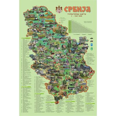 Turisticka Zidna Karta